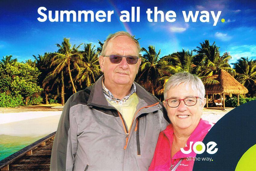 Jos Gurdebeke & echtgenote Joe-FM